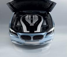 Motorraum des BMW Concept 7 Series ActiveHybrid 2008