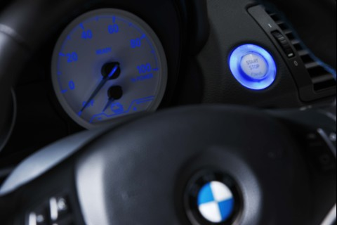 Display des Elektroauto BMW Concept ActiveE