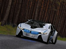 Mittelmotorsportwagen BMW Vision EfficientDynamics 2009