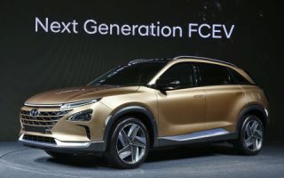 Hyundai Fuel Cell ix35