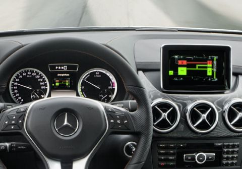 Mercedes-Benz Concept B-Class 2011 Plug-In Hybrid 2010