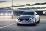 Elektro-Fahrzeug Mercedes Concept EQA 2017