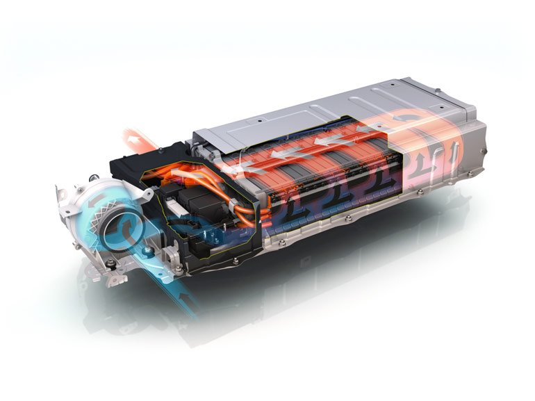 Toyota Prius Batterie Lüftung