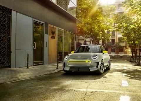 Mini Electric Concept 2017 Front gross